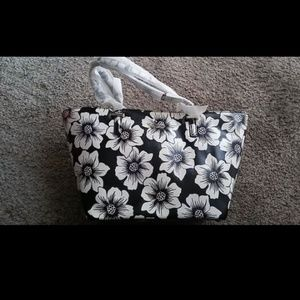 Kate Spade Mini Harmony Black & White Tote bag
